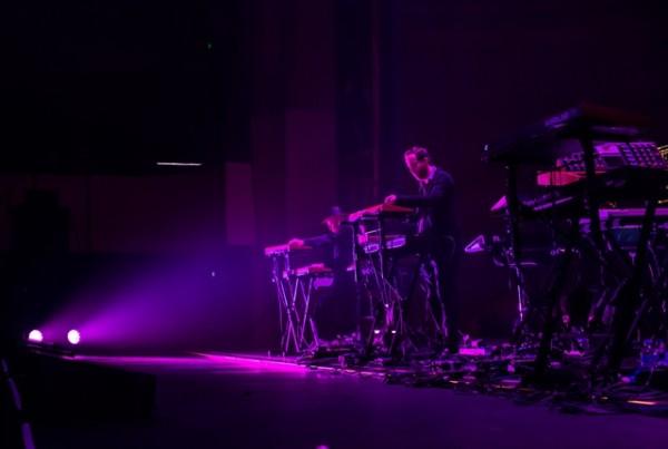 Tangerine Dream on stage.