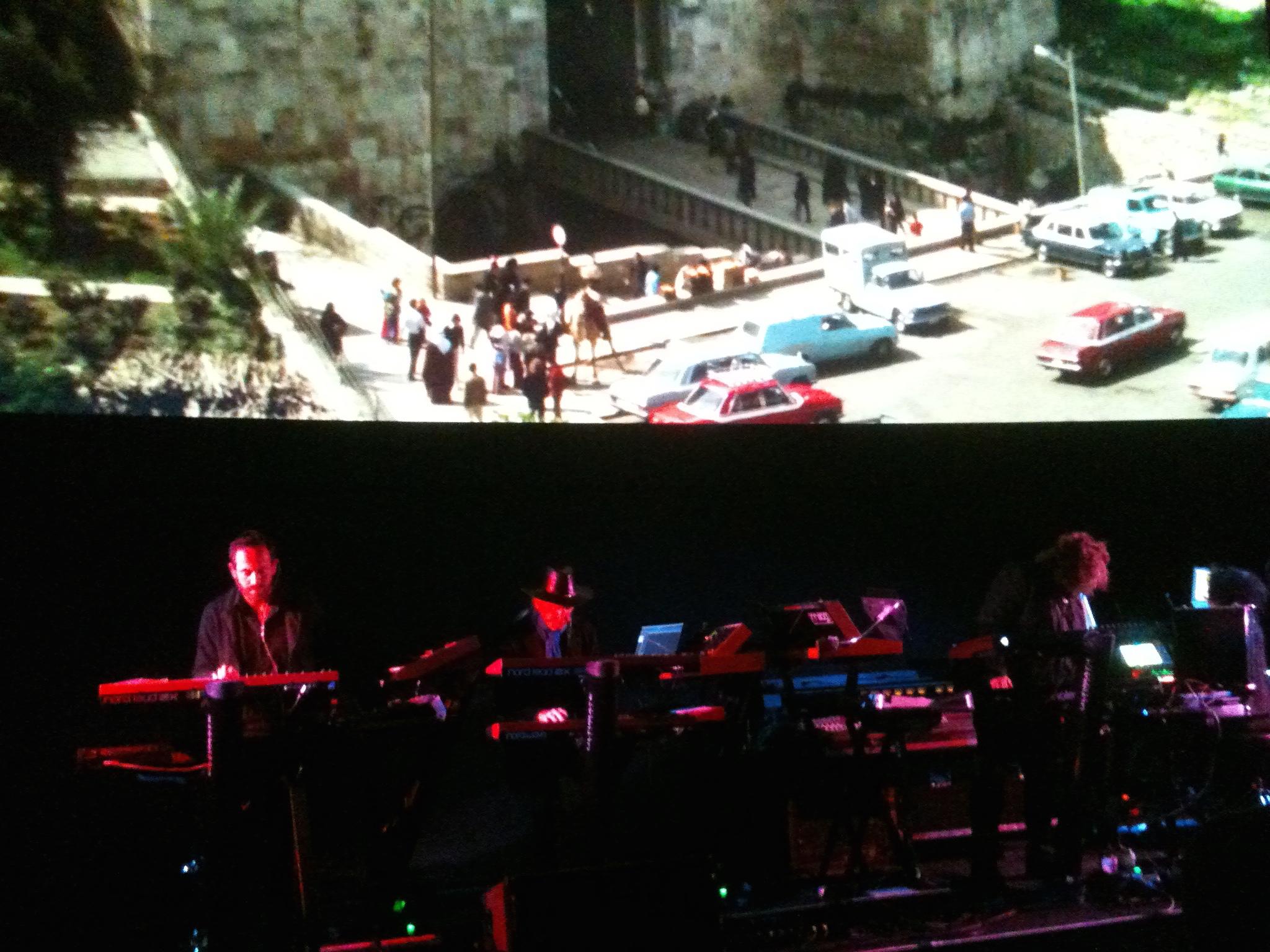 Tangerine Dream perform live to Sorcerer